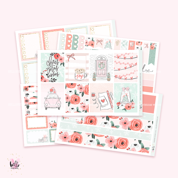 Christmas Wishes sticker kit
