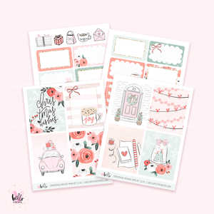 Christmas Wishes  - Mini sticker kit