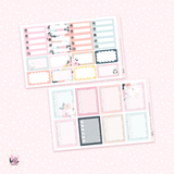 Cold Days Planner sticker kit