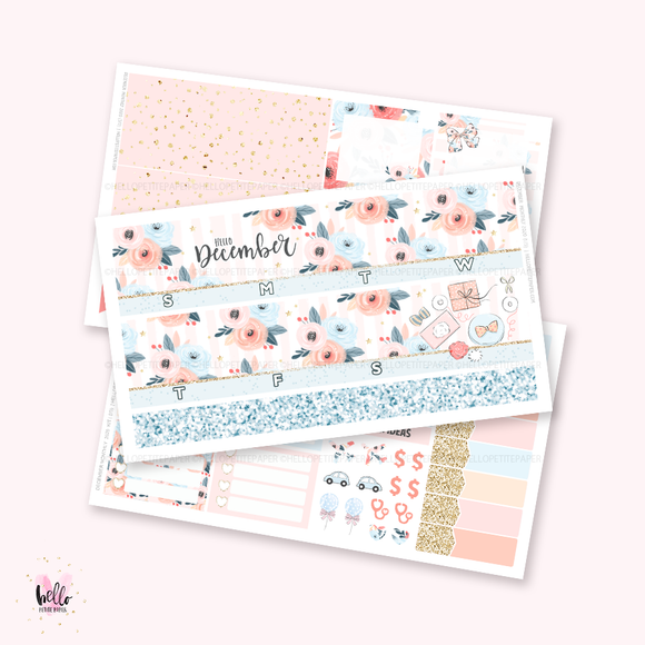 December 2020 Monthly Sticker Kit