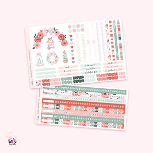 December NOTES Sticker Kit