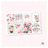 Flower Market sticker kit