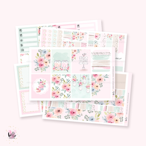 Garden party sticker kit
