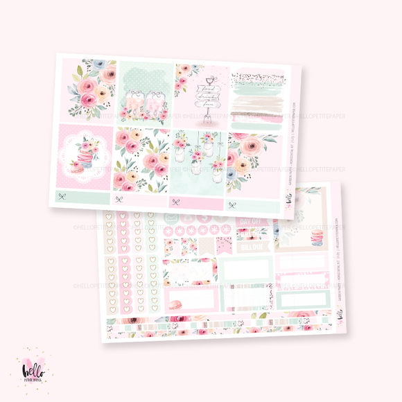 Garden Party - Horizontal sticker kit