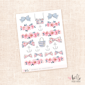 Good Vibes - kit deco, planner stickers