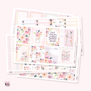 Grateful Heart  - sticker kit