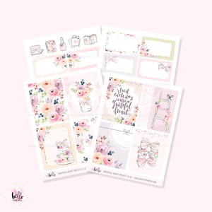 Grateful Heart - Mini sticker kit