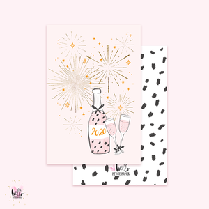 Happy New Year - Gold Foil Card
