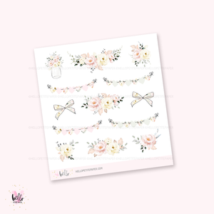 Fresh Start - Kit deco, planner stickers