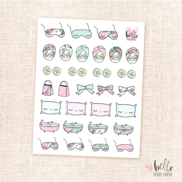 Me Time - planner stickers