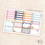 Rainy Days Planner sticker kit