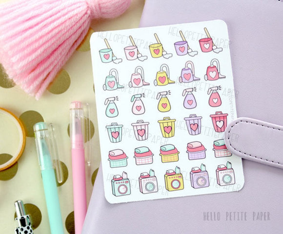 House shores - planner stickers