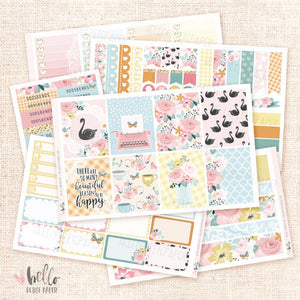 Secret Garden Planner sticker kit