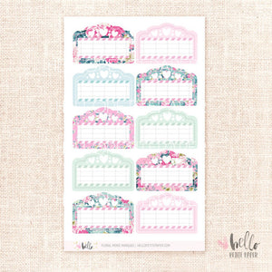Movie Marquees - planner stickers