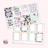 Planner Girl Sticker Kit