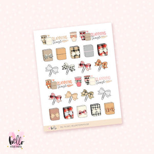 Fall TN - planner stickers