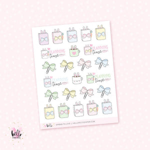 Spring TN time - planner stickers