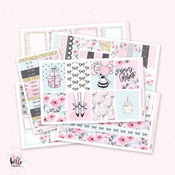 Party Planner sticker kit