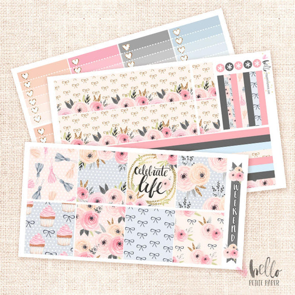 Celebrate - Horizontal sticker kit