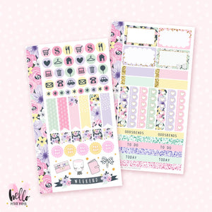 Planner Girl - Personal size sticker kit