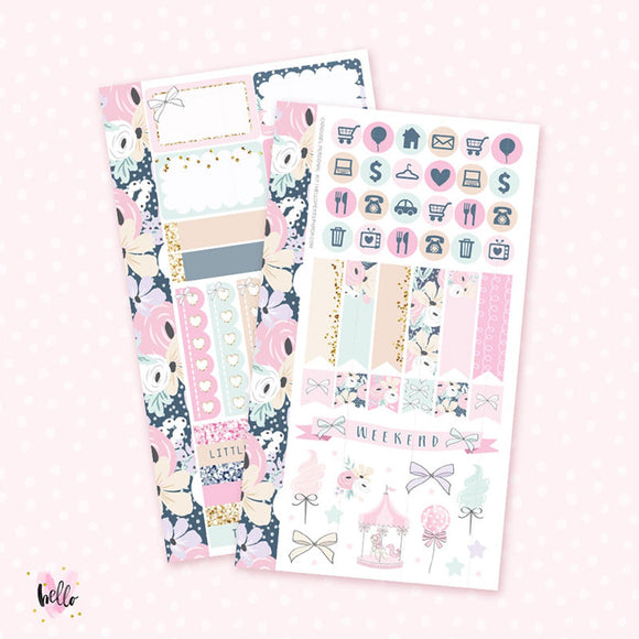Carousel - Personal size sticker kit