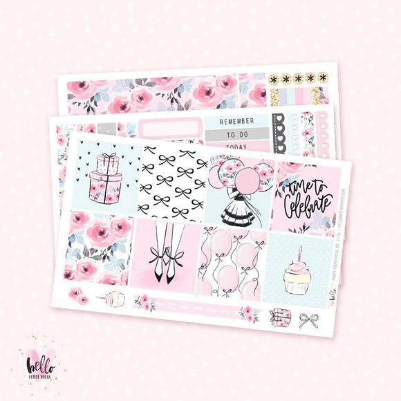Party - Horizontal sticker kit