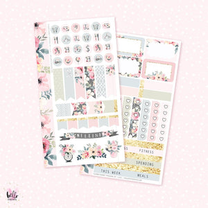 Flower Market - Personal sticker kit