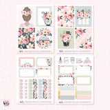 Flower Market MINI sticker kit