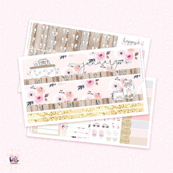 2020 January Monthly Sticker Kit