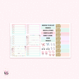 2019 July Monthly Sticker Kit