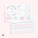 July NOTES Sticker Kit