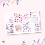 Lavender Fields sticker kit