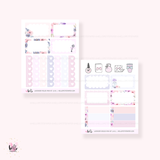 Lavender Fields  - Mini sticker kit