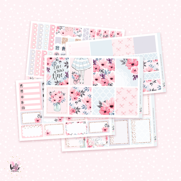Love Grows Here sticker kit