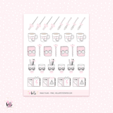 Magic plans - planner stickers