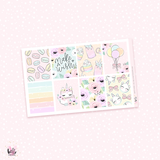 Make a wish - sticker kit