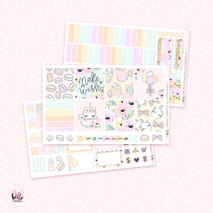 Make a wish - Horizontal sticker kit