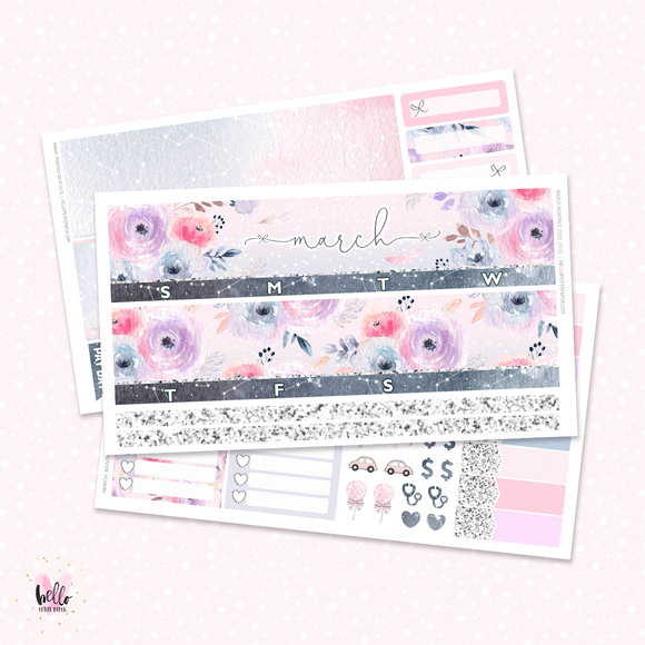 2020 March Monthly Sticker Kit