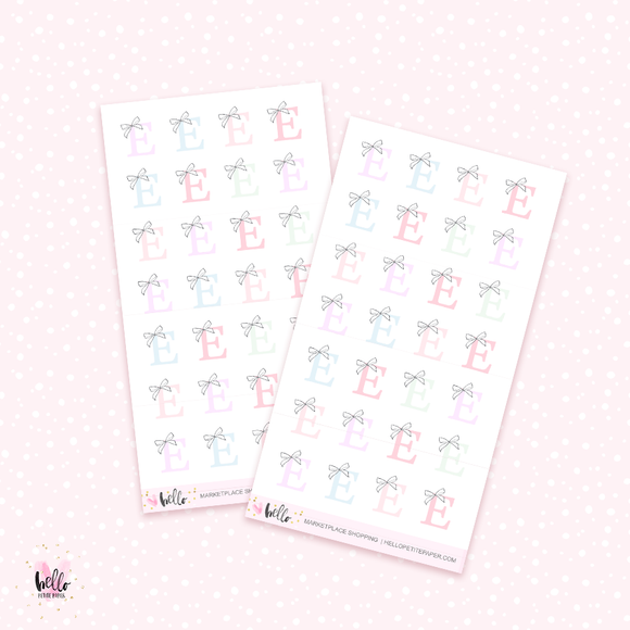 Marketplace - mini planner stickers