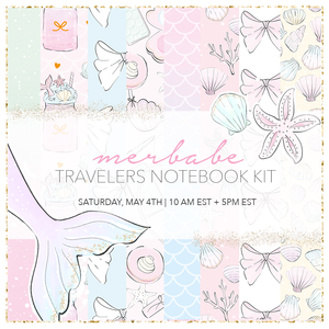 Merbabe - LIMITED EDITION * TN/Rings planner kit
