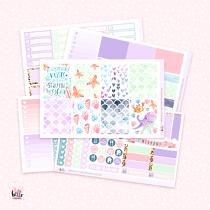 Mermaids sticker kit