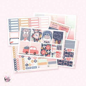 Merry and Bright sticker kit