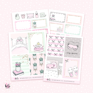 Nap Queen MINI sticker kit