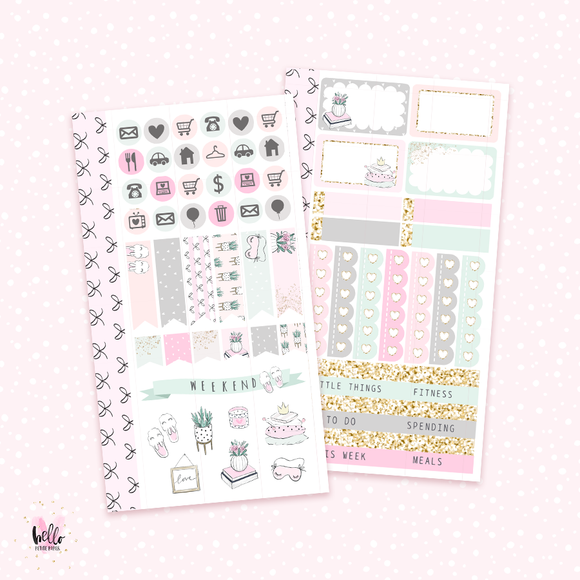 Nap Queen - Personal sticker kit