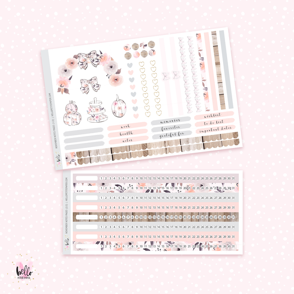 November NOTES Sticker Kit