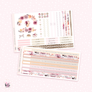 October NOTES Sticker Kit