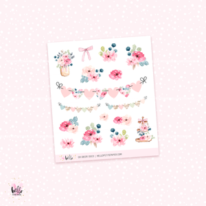 Oh Deer - kit deco, planner stickers
