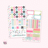 Oh what fun - Personal size sticker kit