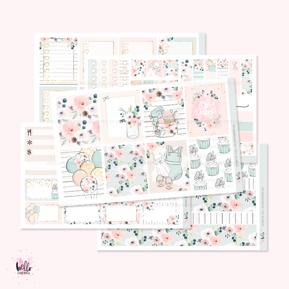 Oh Baby  - sticker kit