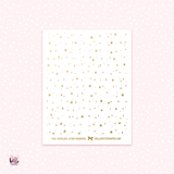 Stars headers - foil overlay stickers (gold or holo)